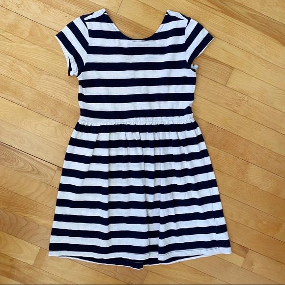 Gap Navy/White Knit Dress - Size M